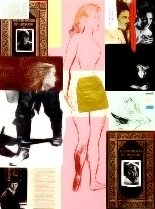 RB Kitaj - The Red Dancer of Moscow