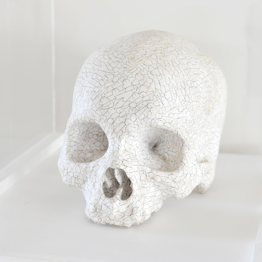 Tom Phillips - Skull