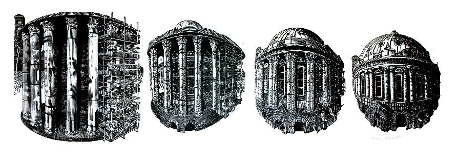 Rotunda x 4