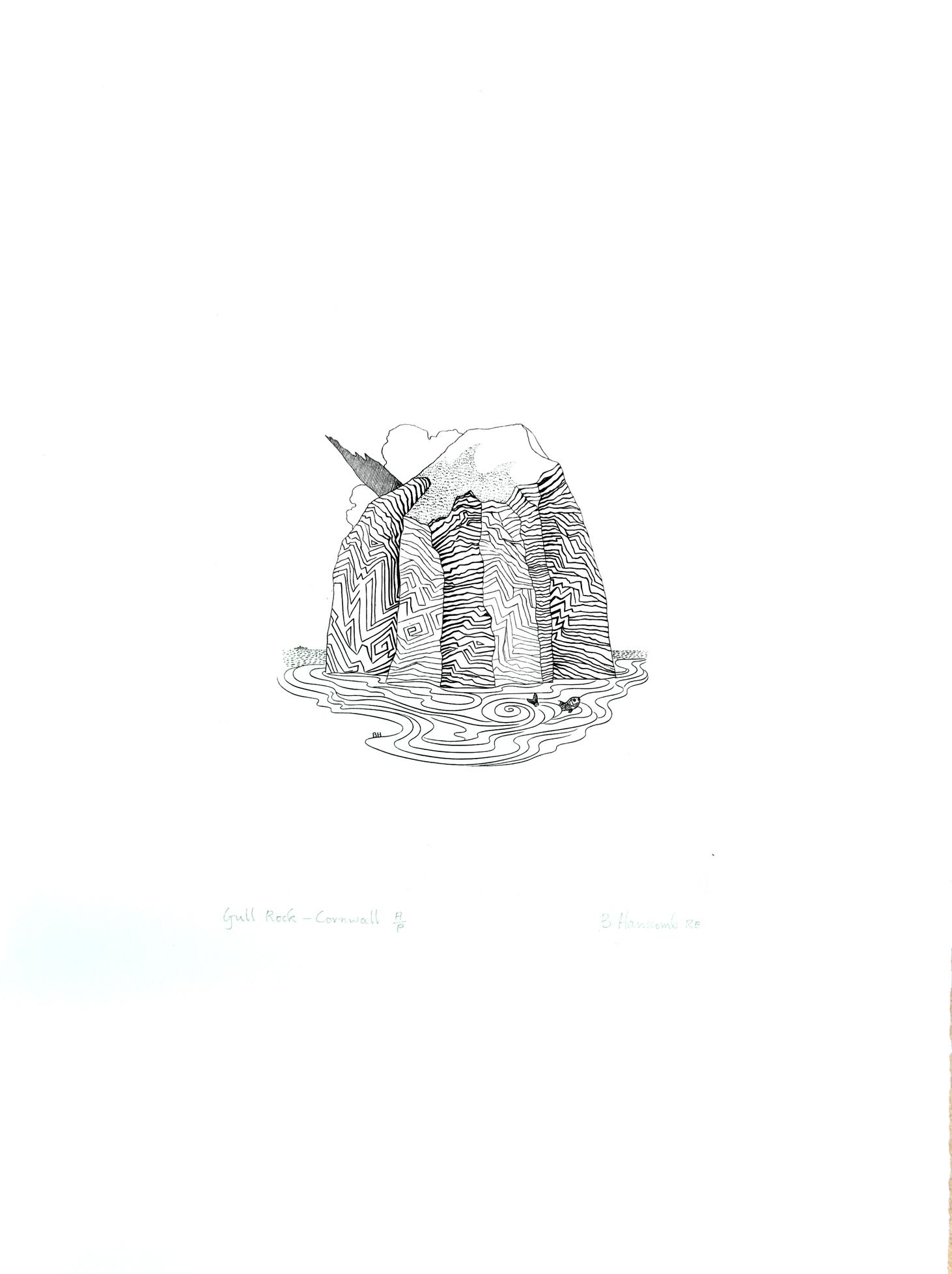 Gull Rock-Cornwall
