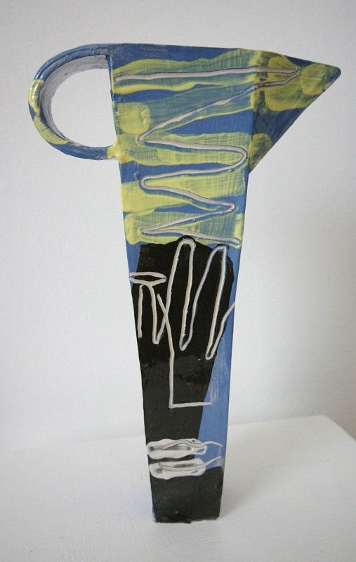 Sculpture of a Jug (blue)