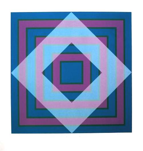 Blue Square, Grey Square