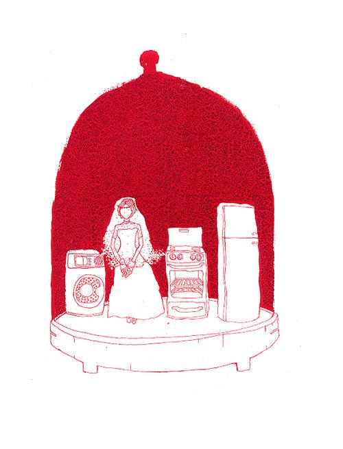 Bell Jar - White Goods