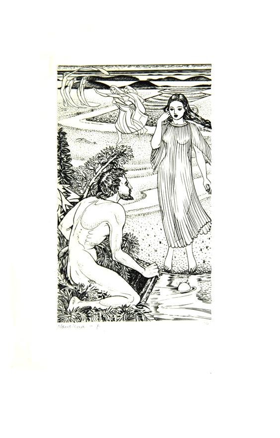 Odysseus & Nausicaa