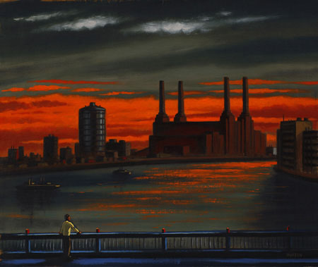 Battersea Sky (Battersea Power Station from Vauxhall Bridge)