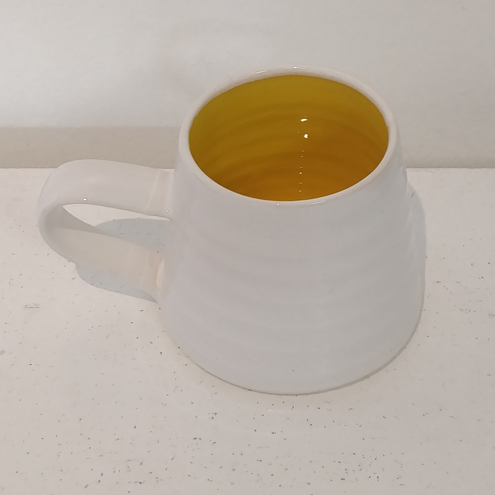 Rainbow Yellow Espresso Cup