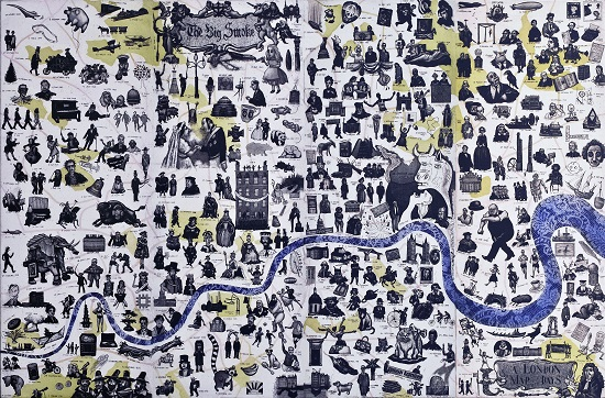 London Map of Days