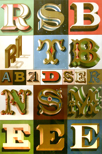 Found Art - Letters