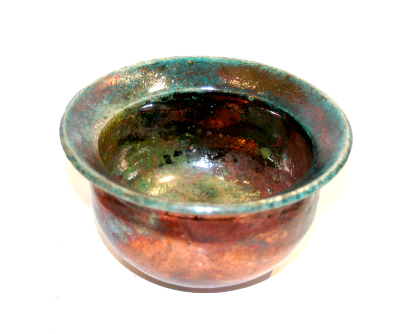 Turquoise/Copper Bowl
