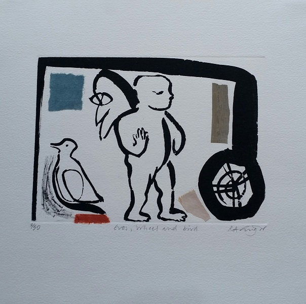 Eros Wheel and Bird
