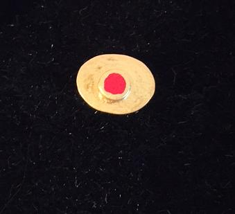 Pair of Earrings - red