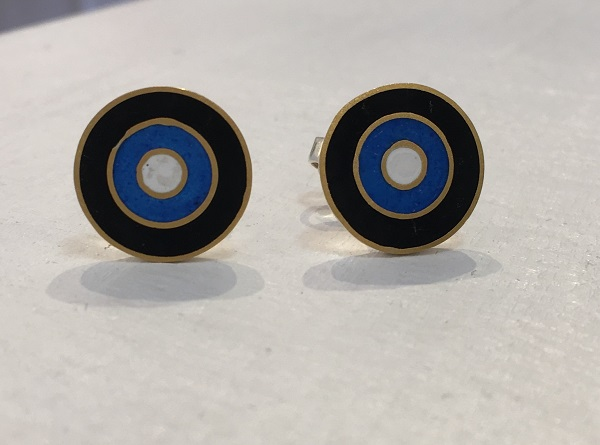 Black and Blue Studs