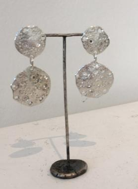 Eroded Oyster Earrings