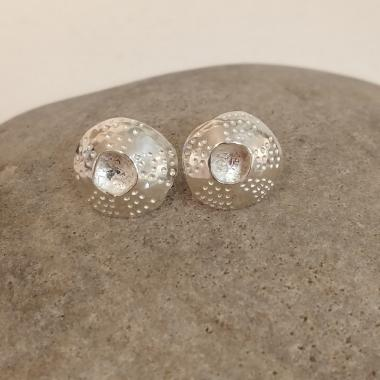Open Limpet Drop/Stud Earrings
