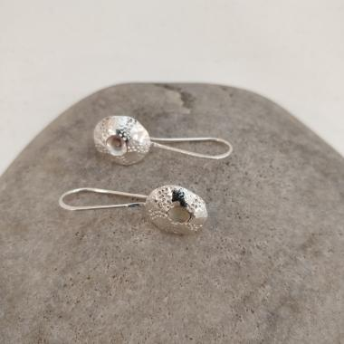 Bright limpet drop earrings