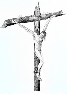 Thief on the cross