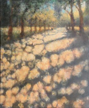 Literature Walk, Central Park V, 2001