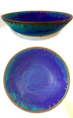 Large Blue Bowl