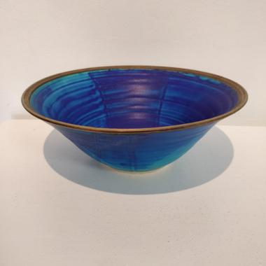 Medium Blue Bowl