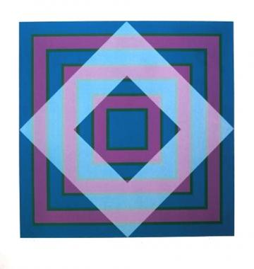 Blue Square, Grey Square