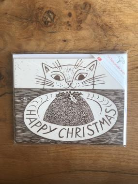 Christmas Cat - Multipack of 15 Christmas cards