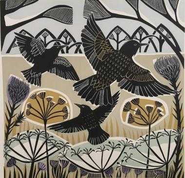 Winter Starlings