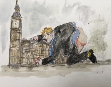 Johnson Gets It Off With Parliament