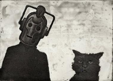 Cyberman and Cat