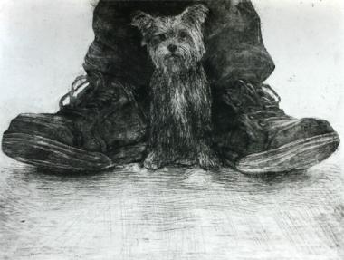 Dog and Shoes