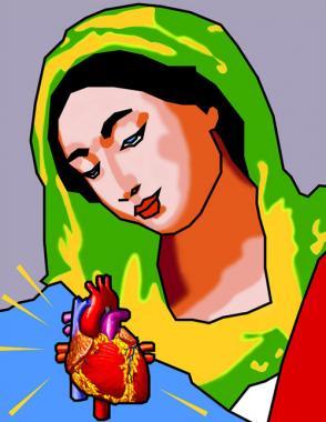 Madonna & Heart