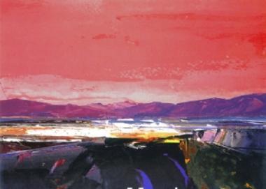 Kinlochbervie Red Sky