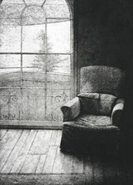 Window and Armchair