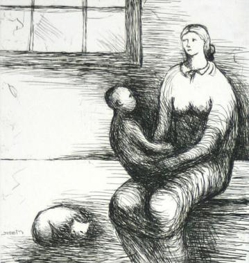 Mother & Child IX(1983)
