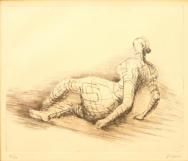 Reclining Figure Distorted (1980)