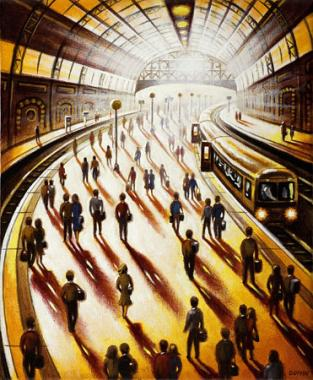 Station Sunlight - Departure