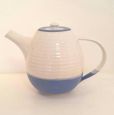Dark Blue Tea Pot Large