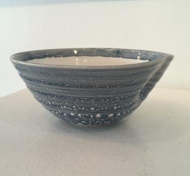 Large Speckled Dimple Bowl