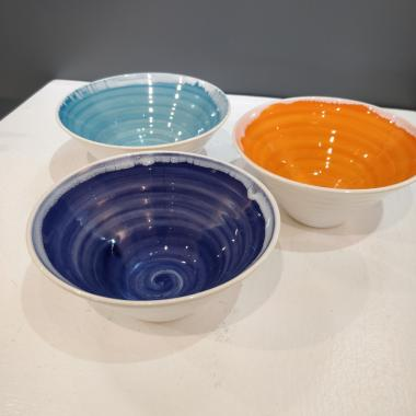 Rainbow Light Blue Bowl