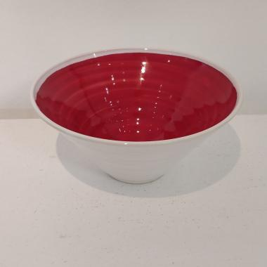 Rainbow Red Bowl