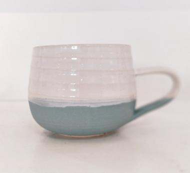 Sea Green Tea Cup