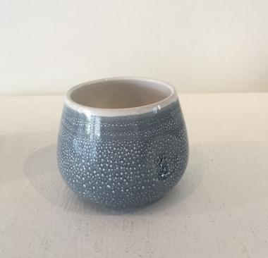 Small Speckled Dimple Pot