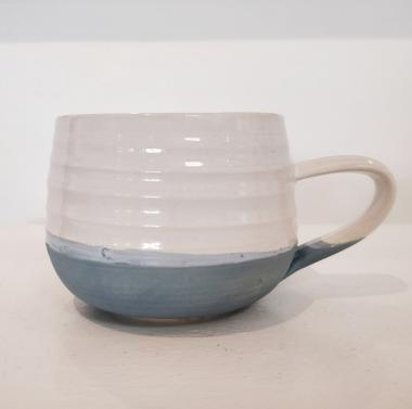 Denim Blue Tea Cup