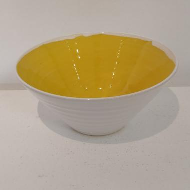 Rainbow Yellow Bowl