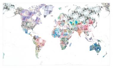 Money Map of the World - 2013