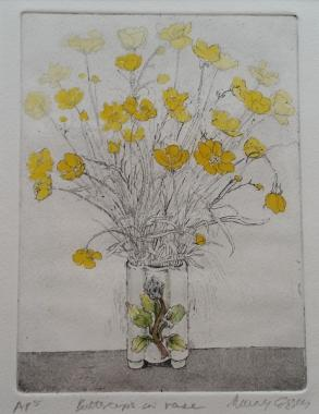 Buttercups in Vase