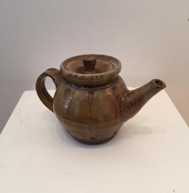 Small Teapot Ash Glaze