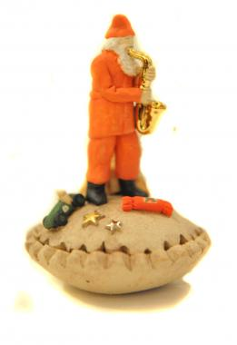 Mince Pie Saxophone