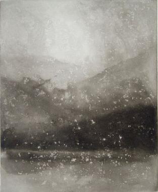 Evening Snow - Coniston