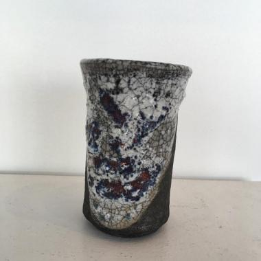 Small Crackle Pot