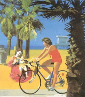 Madonna on a Venice Beach 3
